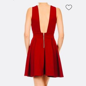 2afa118002cc Dresses - Haute Monde pleated red dress